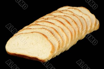 Twelve slices of bread