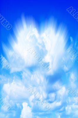 shining sky