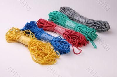 Multi-coloured cords