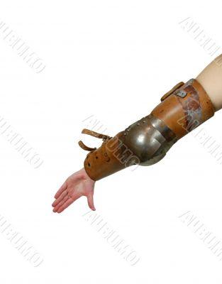 Medieval armor armband