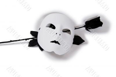 White Mask Black Rose
