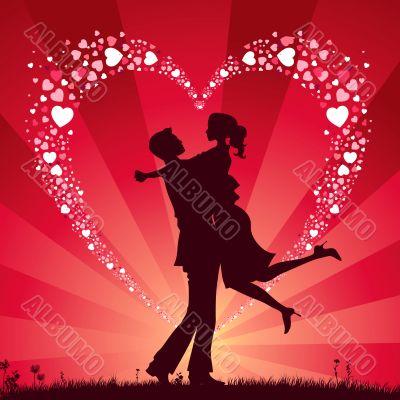 Background Valentine`s Day