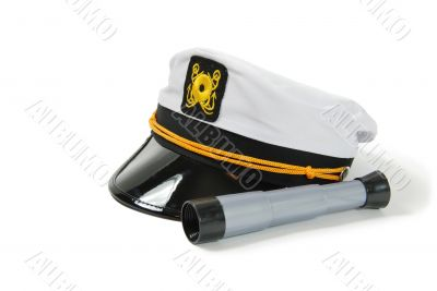 Telescope and nautical cap