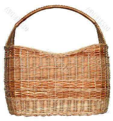 handmade wicker basket