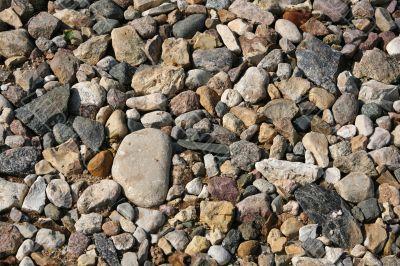 Stony surface
