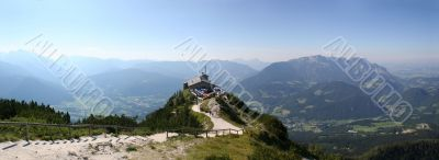 Kehlstein and Eagles nest in the Alps