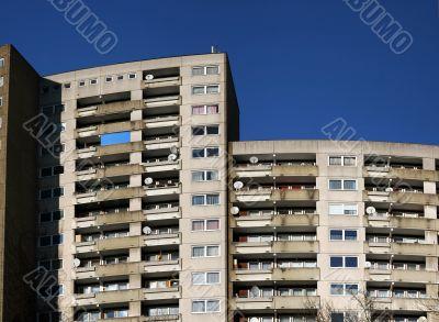 Big apartment houses