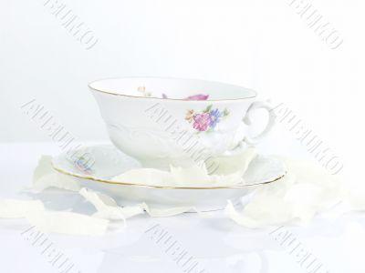 breakfast tea, china set