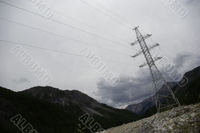 power transmission line support