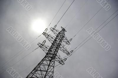 power transmission line support