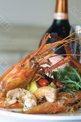 Vietnamese giant freshwater prawn