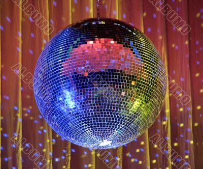 night club lighting ceiling mirror ball
