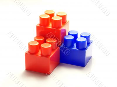 The children`s designer cubes