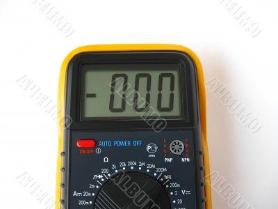 display of  metering  device
