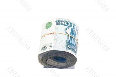roll of roubles