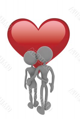 Couples and heart