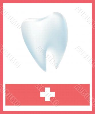 medical placard for the health of your teeth