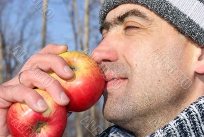 Smell of a winter apple