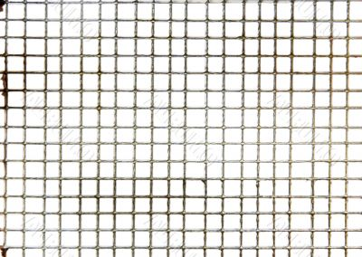 Small wire mesh texture