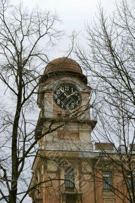 Ancient Steeple Clock
