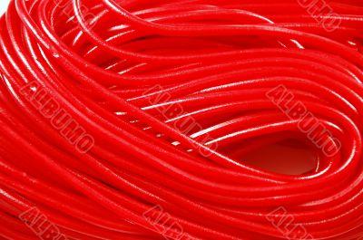 Red string taffy