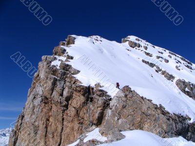 Ascension on peak 3280