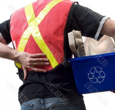 Worker With Back Pain
