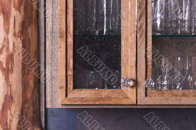 Rustic Cabinet Abstract