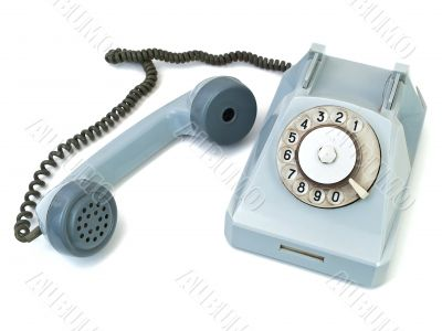 take off telephone receiver
