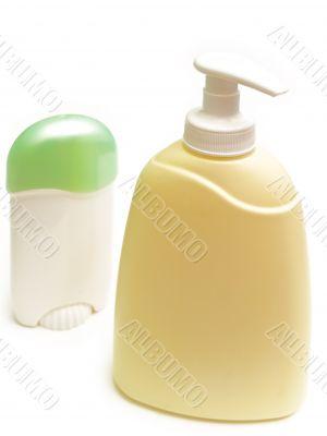 soap and deodorant