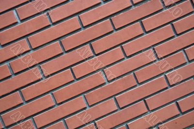Diagonal brick structure