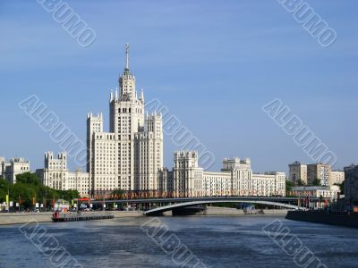 Stalin`s Empire style building