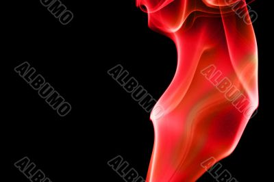 ABSTRACT SMOKE CURVES - Fier