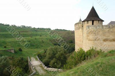 Hotyn fortress, Western Ukraine