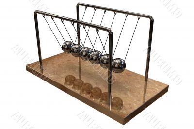 3d desk pendulum