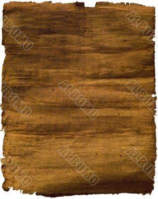 Handmade papyrus paper