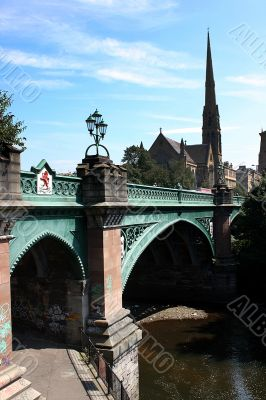Victorian bridge and architecture