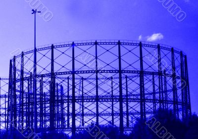 abstract gasometer