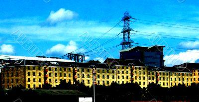 industrial site