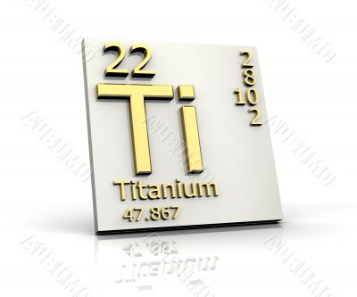 Titanium form Periodic Table of Elements