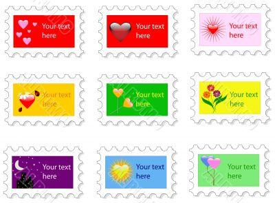 Valentines Day Stamp