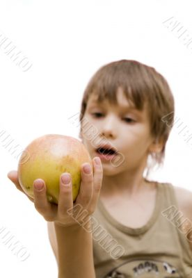 I want this apple