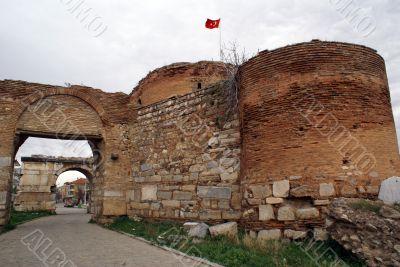 Yanishehir gate in Iznik