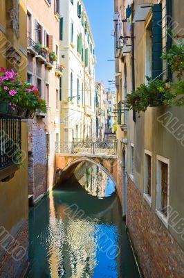 Quiet Venetian Canal