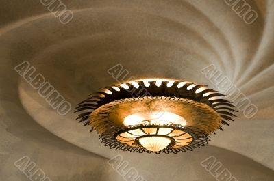 chandelier. casa batllo - detail