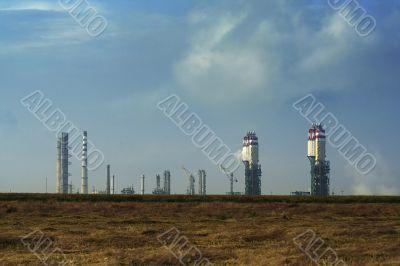 plant process petroleum / refinery complex