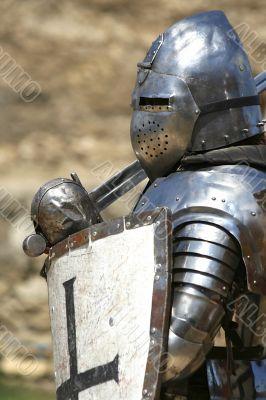 knight in shining armor / historical festival