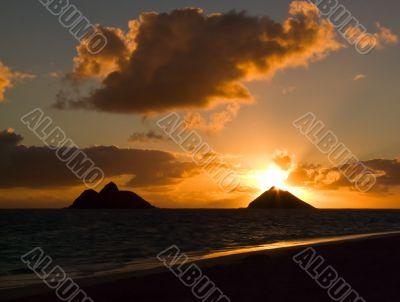 Sunrise Lanikai Beach