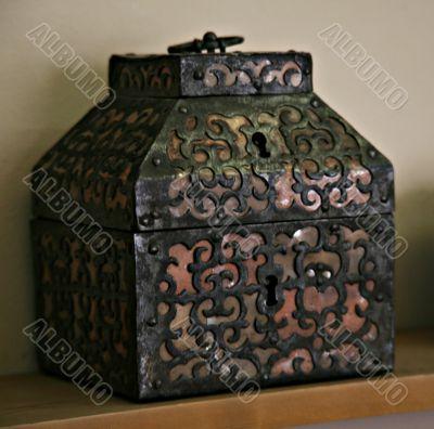 an ancient chest