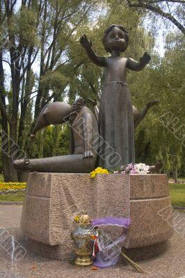 Babi Yar statue